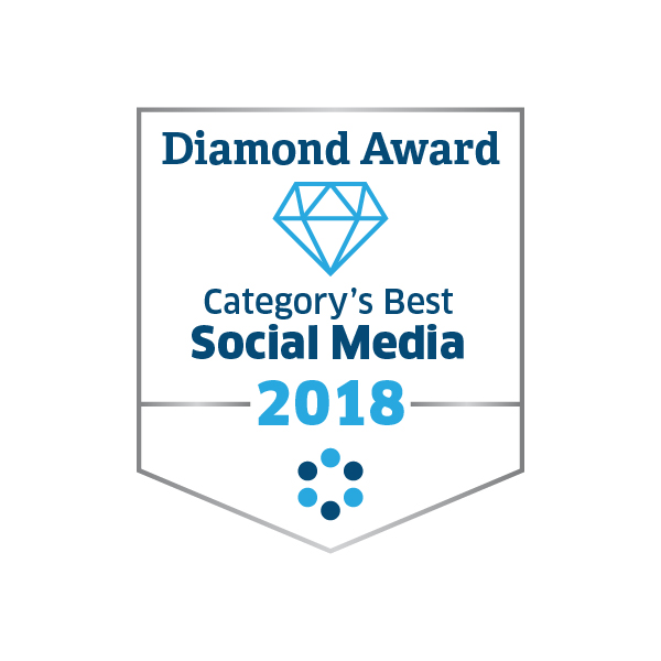 2018 Diamond Award for Social Media