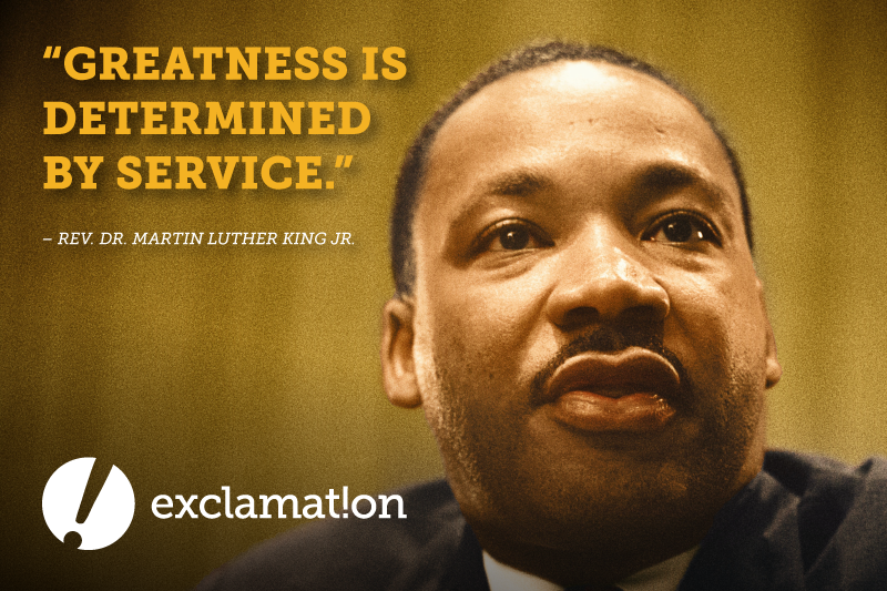 Picture of Martin Luther King Jr. with Quote