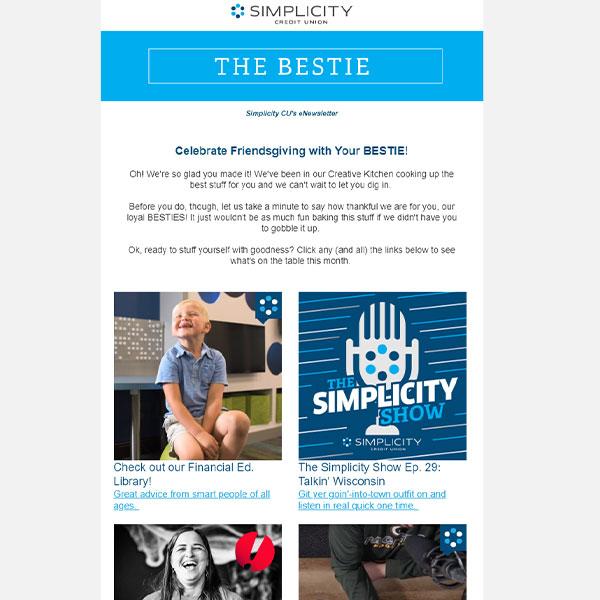 Bestie Newsletter