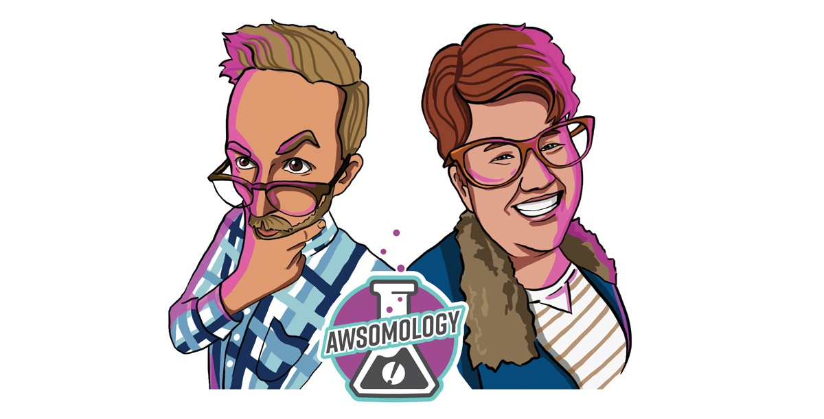 Awsomology Show Artwork Header